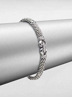 Lagos - Diamond Sterling Silver Bracelet