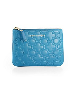 Comme des Garcons - Small Clover-Stamped Zip Pouch