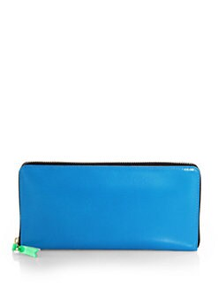 Comme des Garcons - Continental Zip-Around Leather Wallet