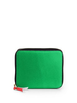 Comme des Garcons - Small Zip-Around Leather Wallet