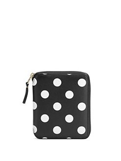 Comme des Garcons - Polka Dot Leather Wallet