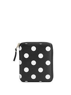 Comme des Garcons - Polka Dot Leather Wallet