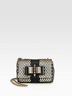 Christian Louboutin - Sweet Charity Lace Shoulder Bag