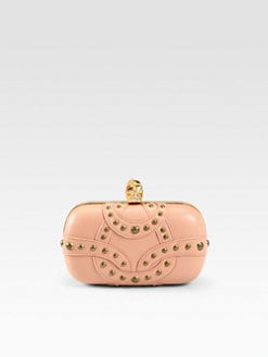 Alexander McQueen - Studded Two-Face Skull Clutch