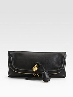 Alexander McQueen - Skull Fold-Over Clutch