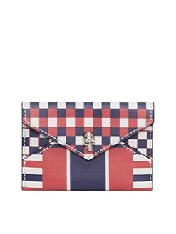 Alexander McQueen - Graphic Envelope Card Holder