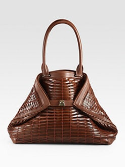 Akris - Ai Medium Woven Tote