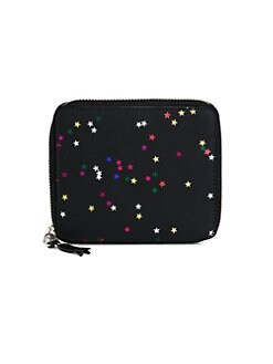 Comme des Garcons - Bright Star Neoprene Zip-Around Wallet