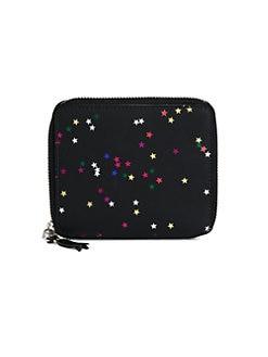 Comme des Garcons - Bright Star Neoprene Zip-Around Wallet