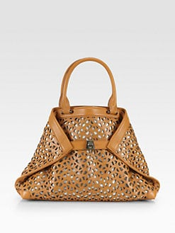 Akris - Ai Small Perforated Tote