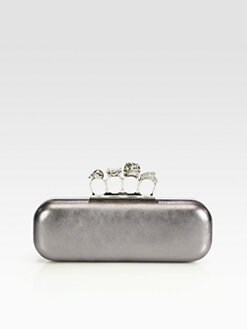 Alexander McQueen - Knuckle Box Clutch