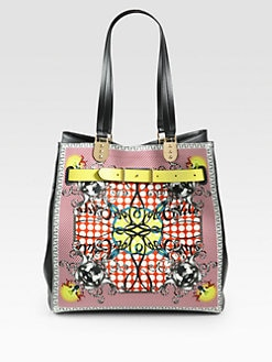 Christian Louboutin - Sybil Large Louboutin Print Shopper