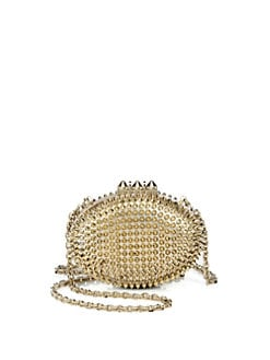 Christian Louboutin - Mina Spiked Clutch