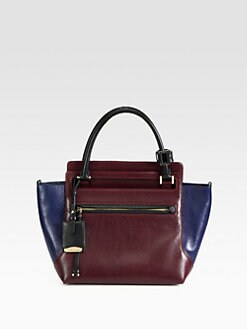 Jil Sander - New Malavoglia Colorblock Small Tote