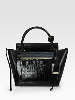 Jil Sander - Crocodile-Embossed Top Handle Bag