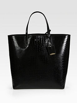 Jil Sander - Bi-Color Mixed-Media Tote