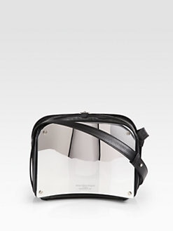Maison Martin Margiela - Curved Mirrored Shoulder Bag