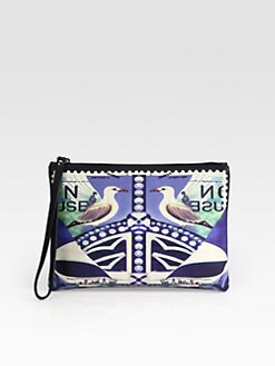 Mary Katrantzou - Star Sailor Wristlet Pouch Clutch