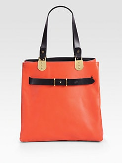 Christian Louboutin - Sybil Reversible Tote Bag/Red & Black
