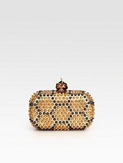 Alexander McQueen - Studded Punk Skull Clutch