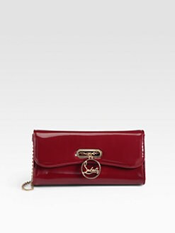 Christian Louboutin - Riviera Patent Leather Clutch