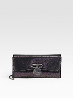 Christian Louboutin - Riviera Spotlight Leather Clutch