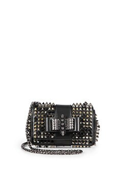 Christian Louboutin - Sweet Charity Spiked Shoulder Bag