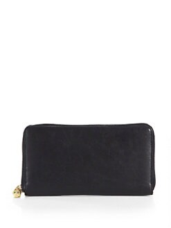 Alexander McQueen - Skull-Embellished Continental Wallet