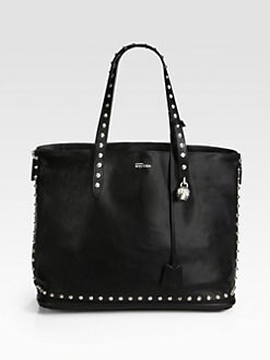 Alexander McQueen - Studded Padlock Shopper
