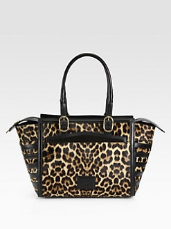 Christian Louboutin - Farida Leopard-Print Calf Hair Bowling Bag