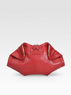 Alexander McQueen - Demanta Leather Clutch