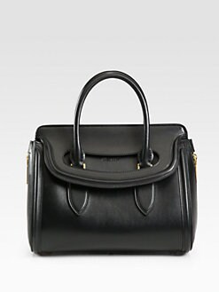 Alexander McQueen - Heroine Small Top Handle Satchel