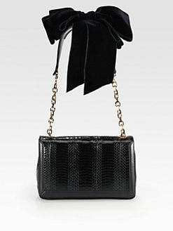 Christian Louboutin - Artemis Python Shoulder Bag