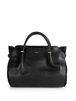 Nina Ricci - Marche Suede-Paneled Leather Tote