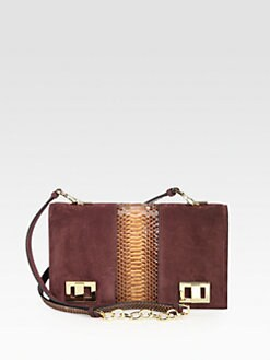 Rochas - Gir Trac Mixed-Media Crossbody
