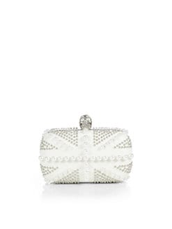 Alexander McQueen - Beaded and Studded Leather Minaudiere