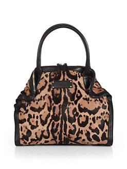 Alexander McQueen - Demanta Pony Hair and Leather Tote