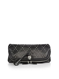 Alexander McQueen - Studded Leather Clutch