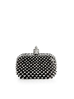 Alexander McQueen - Beaded Scale Box Clutch