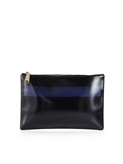 Jil Sander - Colorblocked Leather Clutch