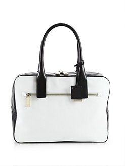 Jil Sander - Bicolor Leather Satchel