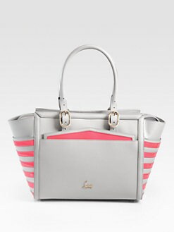 Christian Louboutin - Farida Multi-Media Colorblock Top Handle Bag