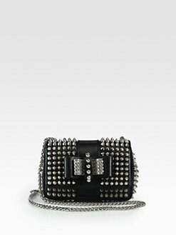 Christian Louboutin - Sweet Charity Studded Mini Shoulder Bag
