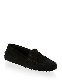 Tod's - Suede Moccasin Drivers