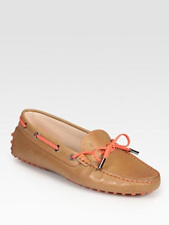 Tod's - Bicolor Leather Moccasin Drivers