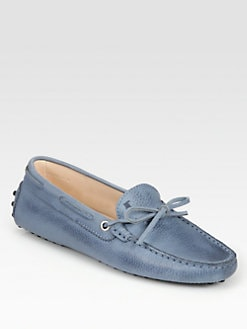 Tod's - Leather Moccasin Loafers