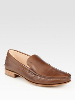 Tod's - Devon Leather Loafers