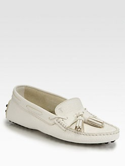 Tod's - Gommini Leather Tassel Loafers