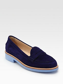 Tod's - Ivy Suede Moccasins