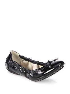 Tod's - Patent Leather Ballet Flats